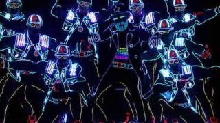 LEDダンス