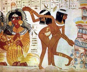 エジプト壁画ダンス