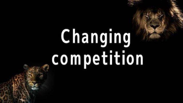 変化する競合