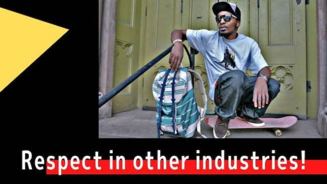 Respect in other industries!